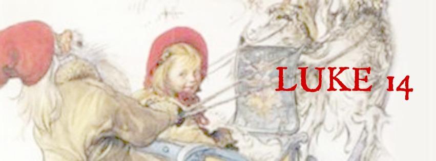 julekalender blogg LUKE 14