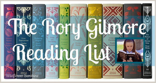 rory gilmore reading list
