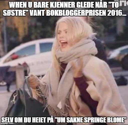 Meme bokbloggerprisen 2016
