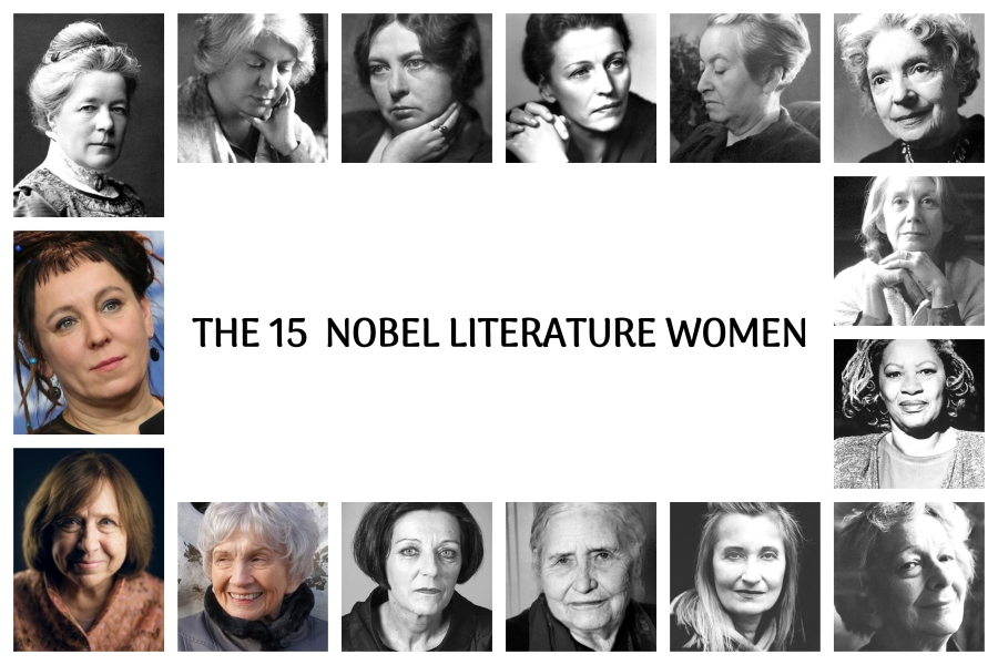 The 15 nobelwomen OK COLLAGE
