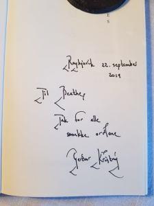 signert smartiesbok